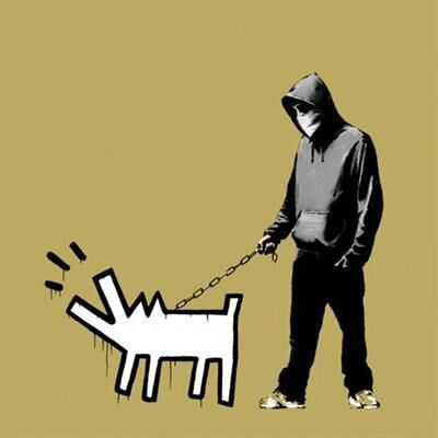 Banksy, 'Choose Your Weapon (Olive) Ed25', 2010