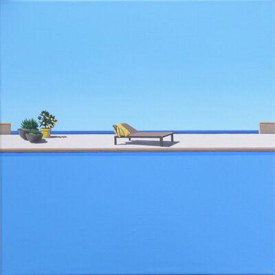 Magdalena Laskowska, 'Scent of Lemons - landscape painting', 2020