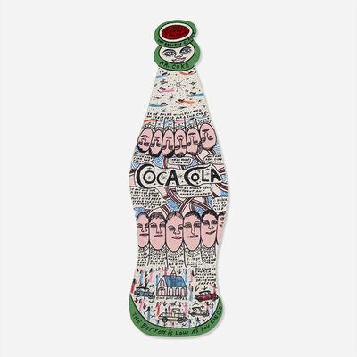 Howard Finster, 'Mr. Coke', 1989