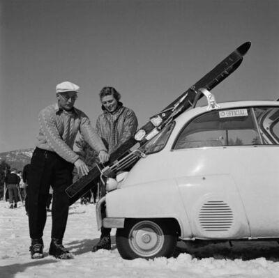 Slim Aarons, 'New England Skiing', 1955