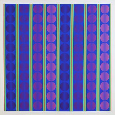 Ivan Picelj, '2/10-I B&B-I', 1969