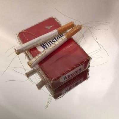 "Nassem Navab, 'Cigarettes for Two from ""Refuge"" series', 2019"