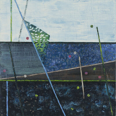 Lisa Hill, 'Crossing Lines, Intersections #5', 2021