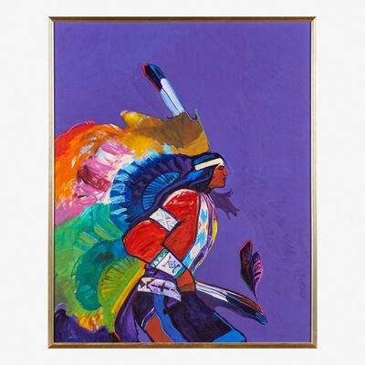 John Nieto, 'Plains Indian Dancer', 1988