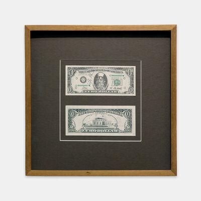 Cildo Meireles, 'Zero Dollar ', 1978/1984