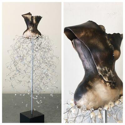 Estella Fransbergen, 'Sawdust Fired with Pearls and Quartz', 2017