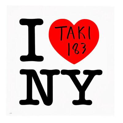 TAKI 183, 'I <3 TAKI (I LOVE NY)', 2017