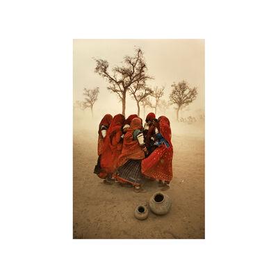 Steve McCurry, 'Dust Storm, India', 1983