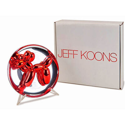 Jeff Koons, 'Red Balloon Dog in publisher's original packaging ', 1995