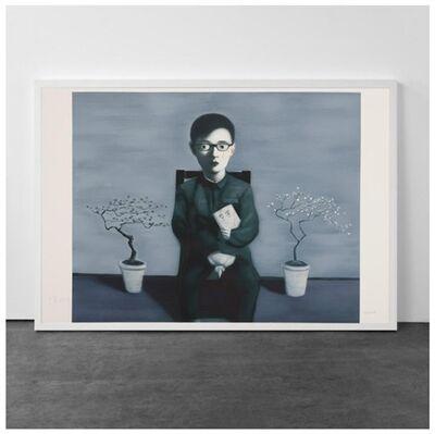 Zhang Xiaogang, 'Boy and Tree', 2009