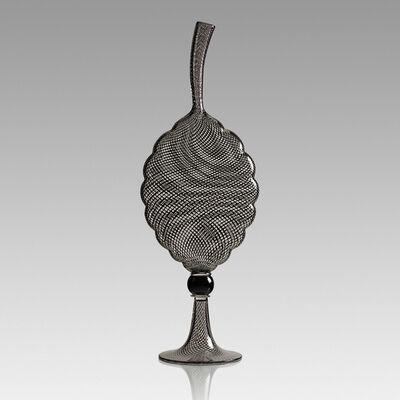 Dante Marioni, 'Tall Reticello Leaf vase, Seattle, WA', 2004