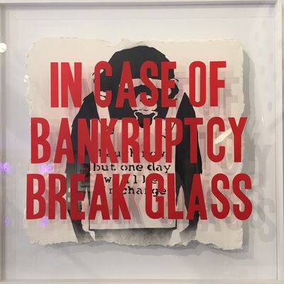 Thirsty Bstrd, 'In Case of Bankruptcy: Laugh Now Monkey ', 2018