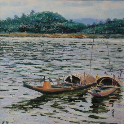 Zhang Shengzan 张胜赞, 'Boats', 2003