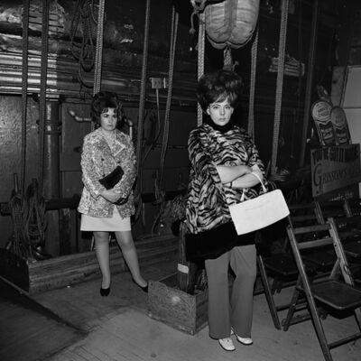 Henry Horenstein, 'Wives Waiting Backstage, Grand Ole Opry, Nashville, TN', 1974