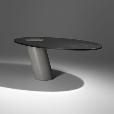 Angelo Mangiarotti, 'Eccentrico table', 1984