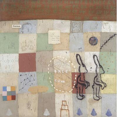 Squeak Carnwath, 'Everyday', 2002