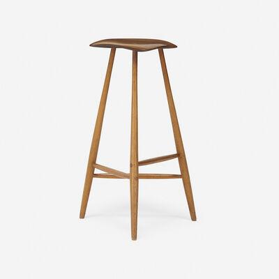 Wharton Esherick, 'stool', 1966