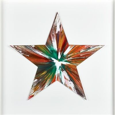 Damien Hirst, 'Star spin Painting ', 2009