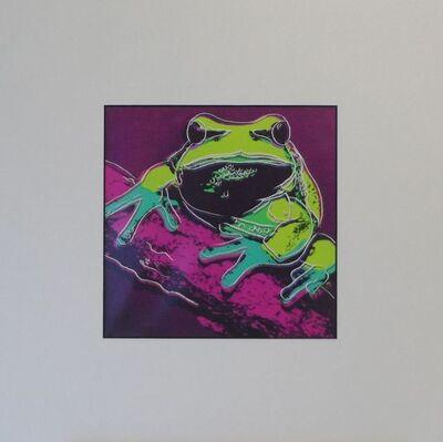 Andy Warhol, 'Frog', 1987