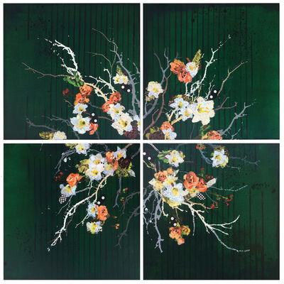 Samantha Walrod, 'Green Floral', 2018