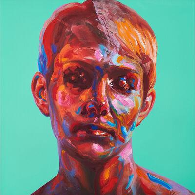 David Walker, 'Lydia (Turquoise)', 2018