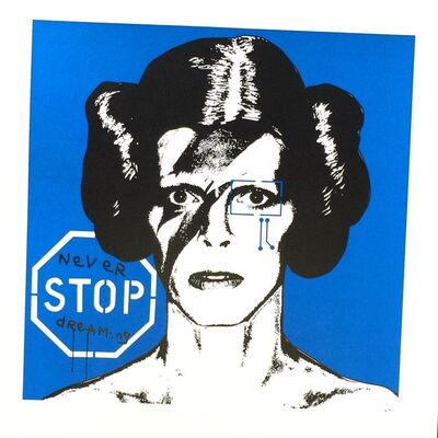 Brad Novak, 'Princess Bowie 1.5 (Bright Blue)', 2014