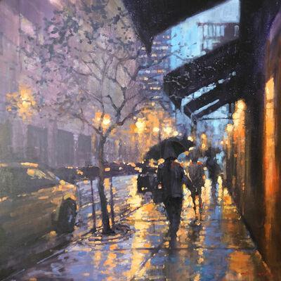 David Hinchliffe, 'Paris Night', 2017