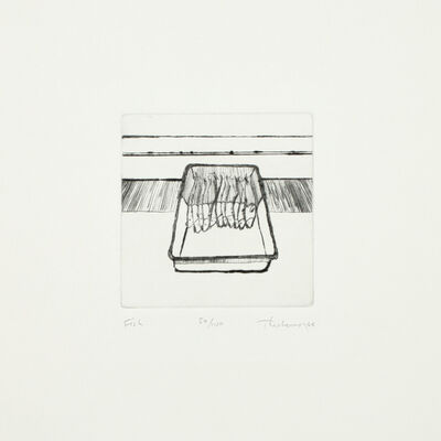 Wayne Thiebaud, 'Fish, from Delights', 1964