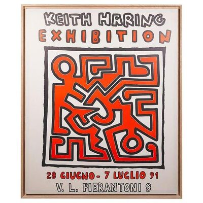 Keith Haring, 'Exhibition Poster', 1991