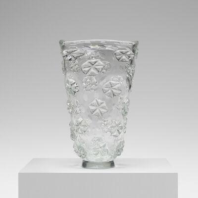 Ercole Barovier, 'Monumental A Stelle Vase', 1942