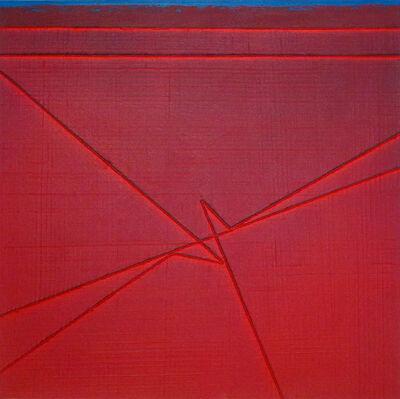 Gianfranco Zappettini, 'La trama e l'ordito n.53', 2009