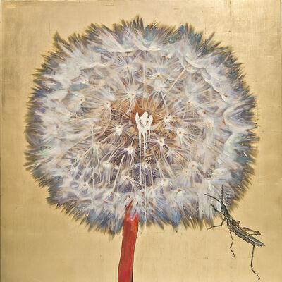 Hung Liu 刘虹, 'Dandelion - Grasshopper'