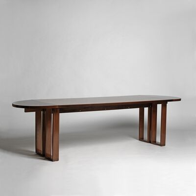 André Sornay, 'Table-desk with two extensions folding', ca. 1950