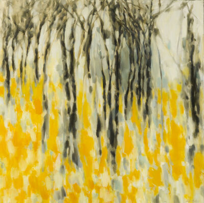 Dolores Justus, 'Wading in Gold', 2012