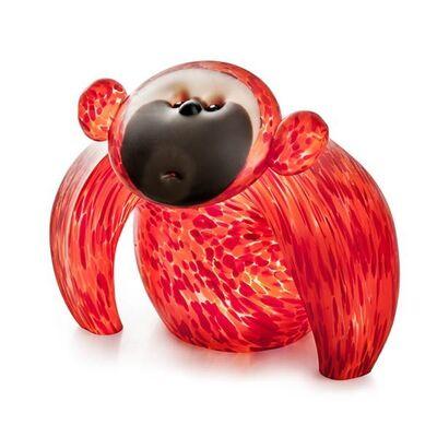 Borowski Glass, 'Koong: 24-11-40 in Orange', 2018