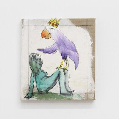 Daniel Boccato, 'parrotpainting', 2019