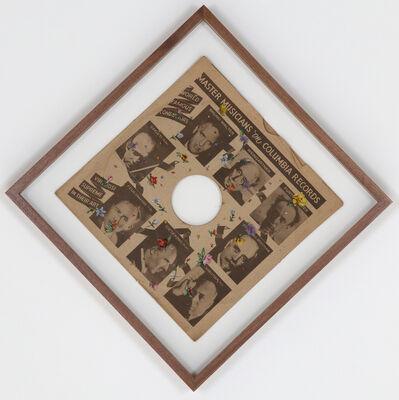 Aoyama Satoru, 'SP Record Embroidery #4', 2015