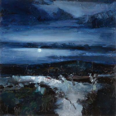 Simon Andrew, 'Low Moon Night', 2017