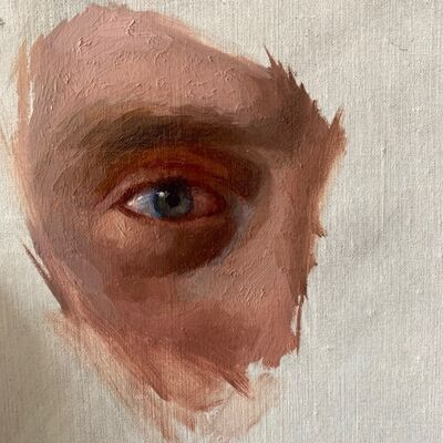 Derek Harrison, 'Self Portrait, Eye', 2019