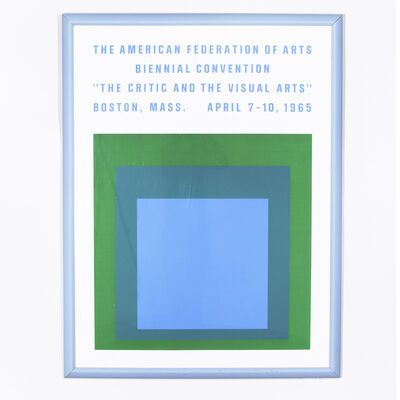 Josef Albers, ' Biennial Convention Poster', 1965