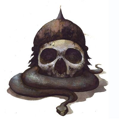 Arik Roper, 'Snake And Skull', 2009