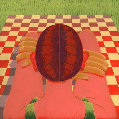 Celia Jacobs, 'Portrait on a Blanket', 2019