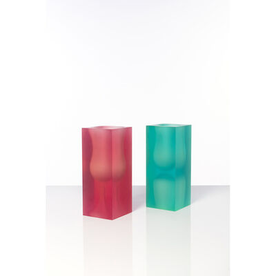 Andrea Branzi, 'Model No. VS1 and VS2 - Wireless Series - Set of two vases', circa 1995