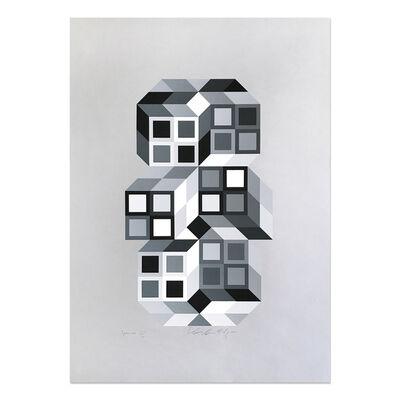Victor Vasarely, 'Tridim', 1968