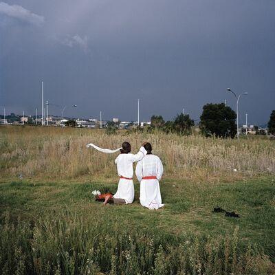 Jason Larkin, 'Communal Sunday Prayers, City Deep, Johannesburg', 2013