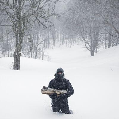 Cig Harvey, 'The Blizzard, Rockport, Maine', 2013