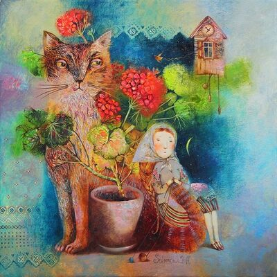 Anna Silivonchik, 'Little Kitty ', 2021