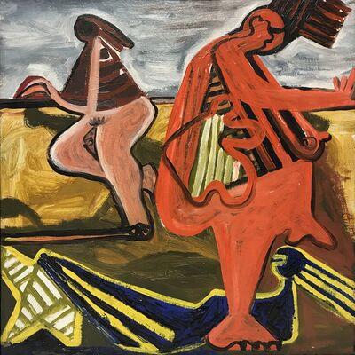 David Smith, 'Untitled (Bathers)', 1934