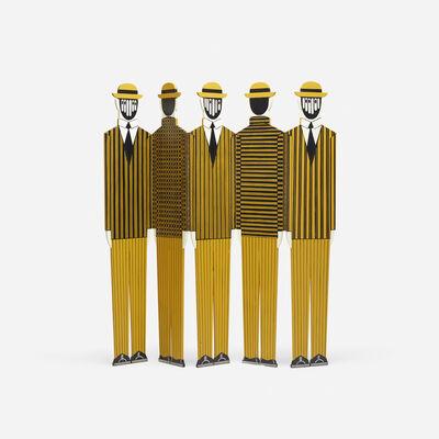 Yannis Gaitis, 'Untitled (Five Figures)', c. 1973