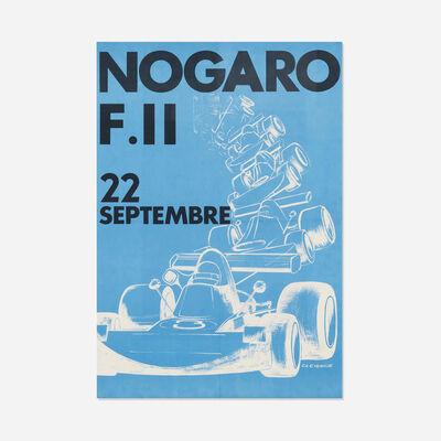 C.H. Evenisse, 'Circuit de Nogaro poster', c. 1945